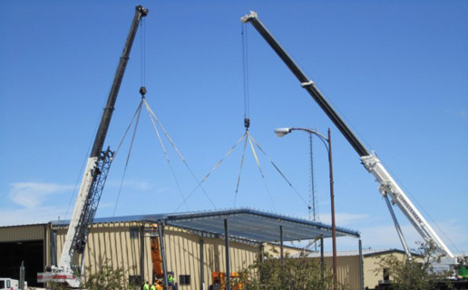 Christensen Construction Rental Crane